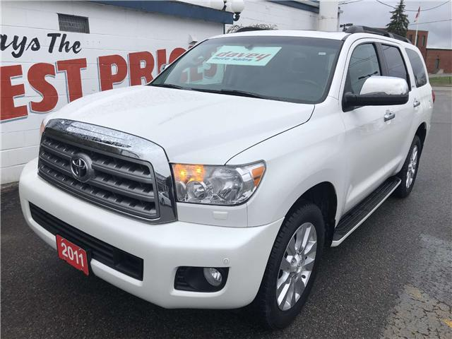 2011 Toyota Sequoia Platinum 5.7L V8 (Stk: 19-270T) in Oshawa - Image 1 of 22