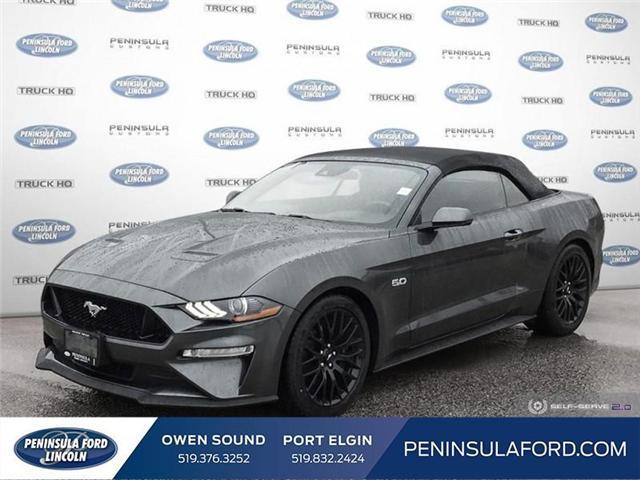 2019 Ford Mustang GT Premium (Stk: 19MU09) in Owen Sound - Image 1 of 25