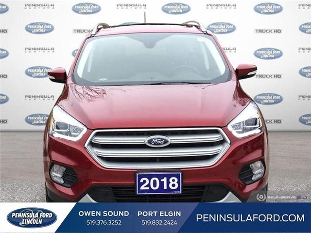 2018 Ford Escape Titanium (Stk: 1752) in Owen Sound - Image 2 of 24