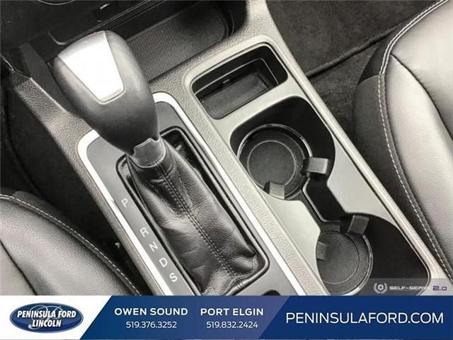 2018 Ford Escape Titanium (Stk: 1752) in Owen Sound - Image 17 of 24