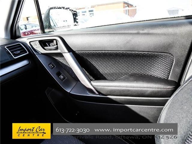 2017 Subaru Forester 2.5i Convenience (Stk: 415300) in Ottawa - Image 13 of 30