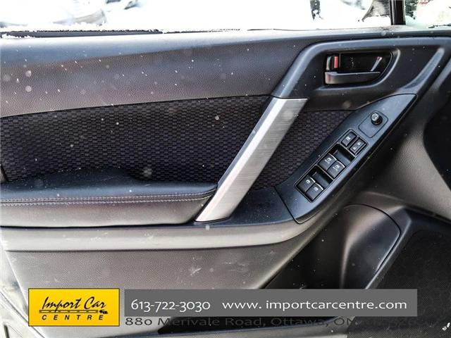 2017 Subaru Forester 2.5i Convenience (Stk: 415300) in Ottawa - Image 16 of 30
