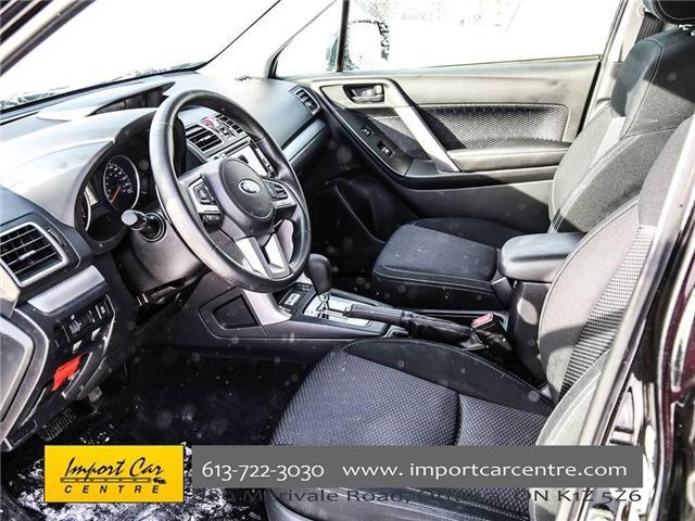 2017 Subaru Forester 2.5i Convenience (Stk: 415300) in Ottawa - Image 17 of 30