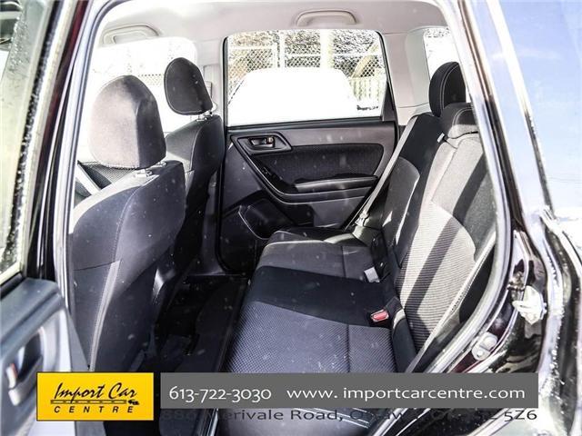 2017 Subaru Forester 2.5i Convenience (Stk: 415300) in Ottawa - Image 20 of 30