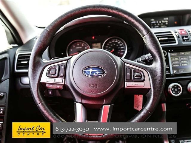 2017 Subaru Forester 2.5i Convenience (Stk: 415300) in Ottawa - Image 27 of 30