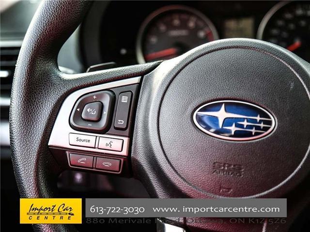 2017 Subaru Forester 2.5i Convenience (Stk: 415300) in Ottawa - Image 30 of 30