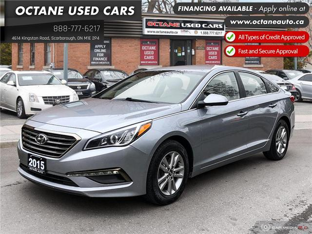 2015 Hyundai Sonata GL (Stk: ) in Scarborough - Image 1 of 25