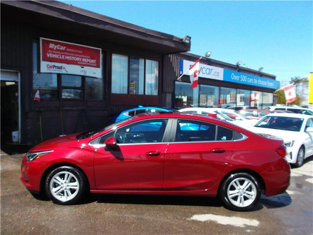 2018 Chevrolet Cruze LT Auto (Stk: 182144) in North Bay - Image 4 of 12