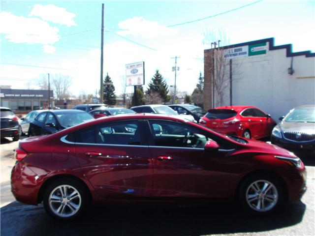 2018 Chevrolet Cruze LT Auto (Stk: 182144) in North Bay - Image 3 of 12