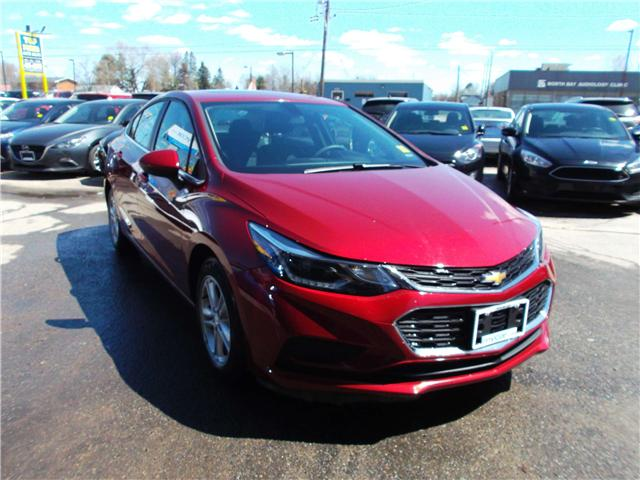2018 Chevrolet Cruze LT Auto (Stk: 182144) in North Bay - Image 2 of 12