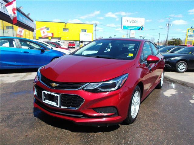 2018 Chevrolet Cruze LT Auto (Stk: 182144) in North Bay - Image 1 of 12