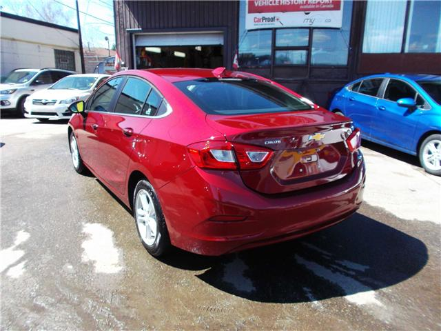 2018 Chevrolet Cruze LT Auto (Stk: 182144) in North Bay - Image 6 of 12