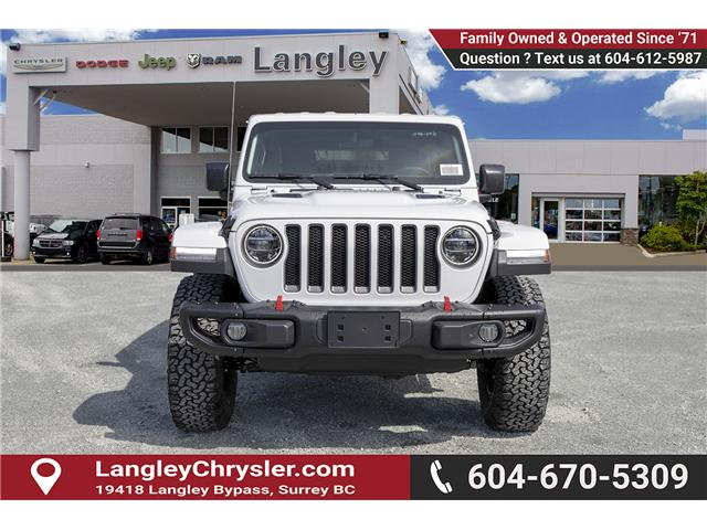 2019 Jeep Wrangler Unlimited Rubicon (Stk: K602672) in Surrey - Image 2 of 21
