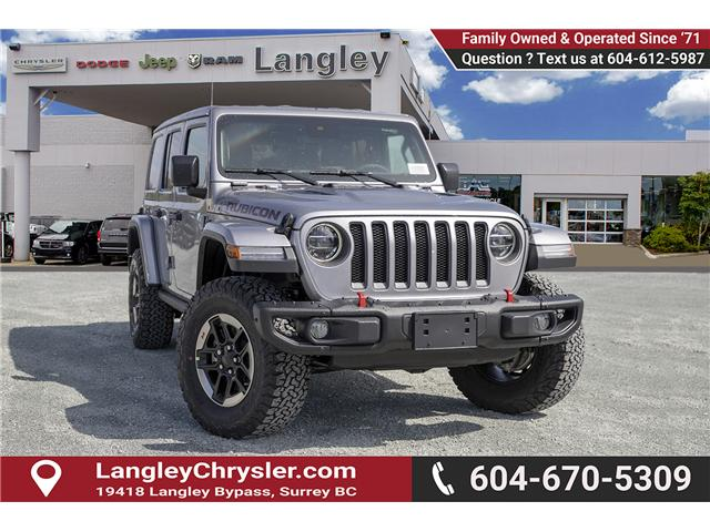 2019 Jeep Wrangler Unlimited Rubicon (Stk: K602673) in Surrey - Image 1 of 23