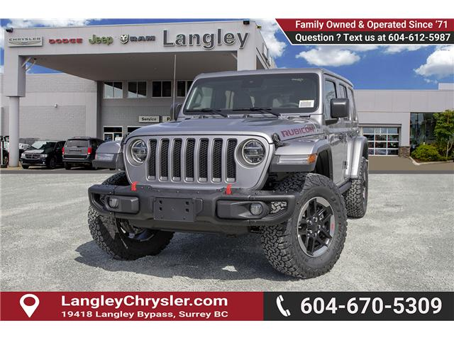 2019 Jeep Wrangler Unlimited Rubicon (Stk: K602673) in Surrey - Image 3 of 23
