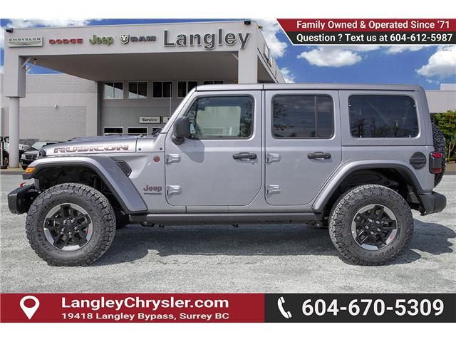 2019 Jeep Wrangler Unlimited Rubicon (Stk: K602673) in Surrey - Image 4 of 23
