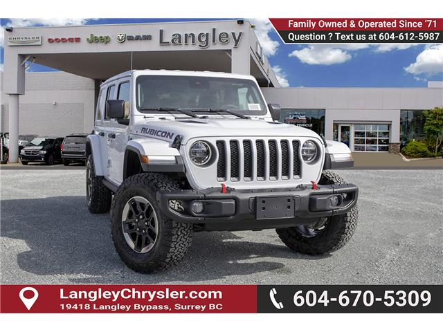 2019 Jeep Wrangler Unlimited Rubicon (Stk: K602675) in Surrey - Image 1 of 23