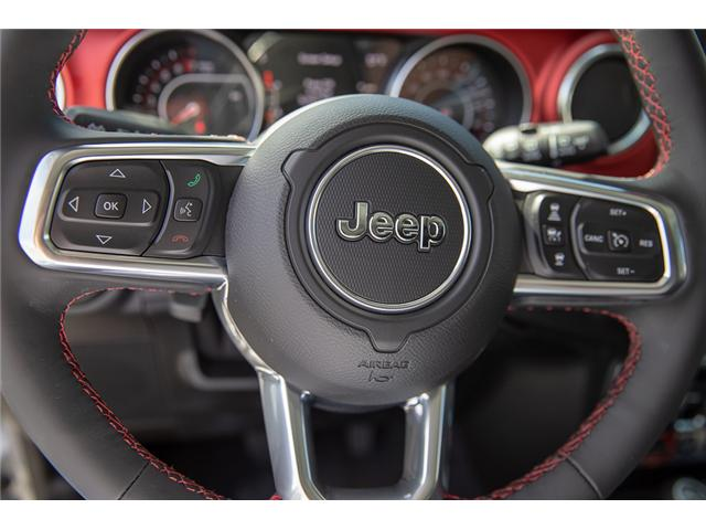 2019 Jeep Wrangler Unlimited Rubicon (Stk: K602673) in Surrey - Image 12 of 23