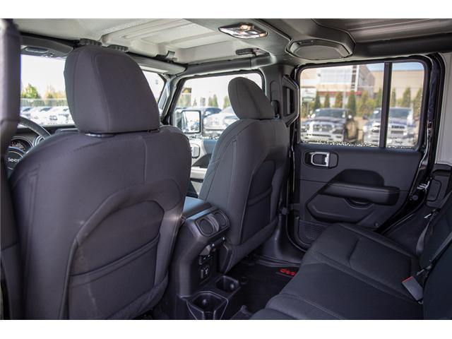 2019 Jeep Wrangler Unlimited Sahara (Stk: K602687) in Surrey - Image 8 of 46