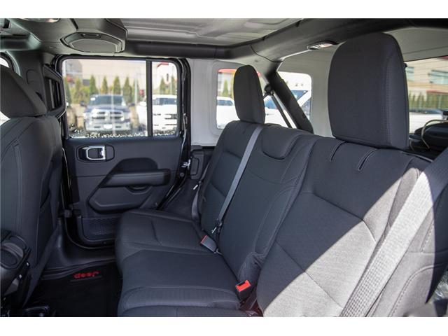 2019 Jeep Wrangler Unlimited Sahara (Stk: K602687) in Surrey - Image 12 of 46