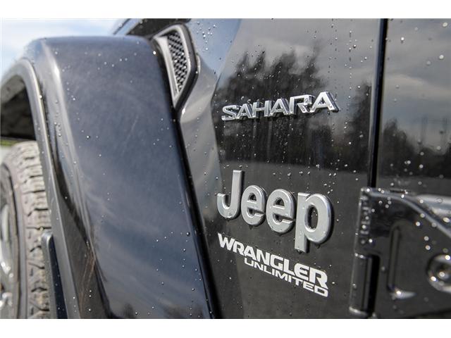 2019 Jeep Wrangler Unlimited Sahara (Stk: K602687) in Surrey - Image 14 of 46