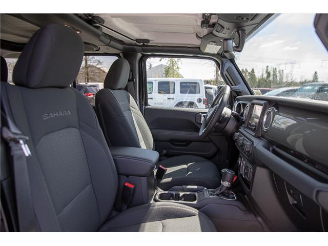 2019 Jeep Wrangler Unlimited Sahara (Stk: K602687) in Surrey - Image 15 of 46