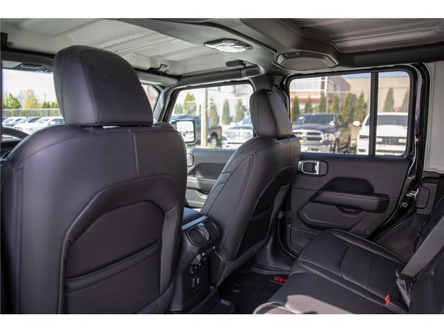 2019 Jeep Wrangler Unlimited Sahara (Stk: K602687) in Surrey - Image 22 of 46