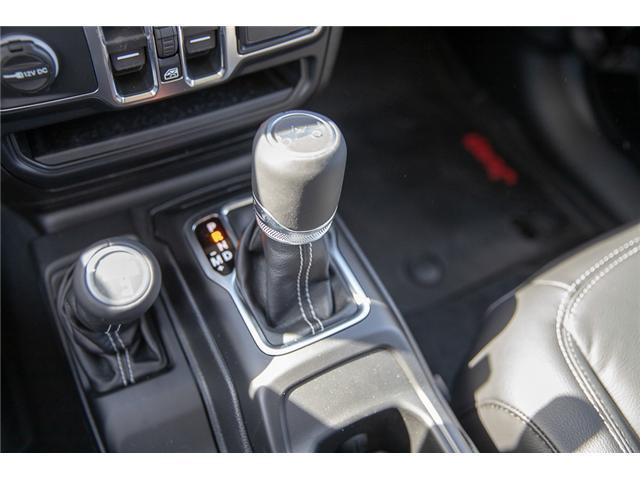 2019 Jeep Wrangler Unlimited Sahara (Stk: K602687) in Surrey - Image 43 of 46