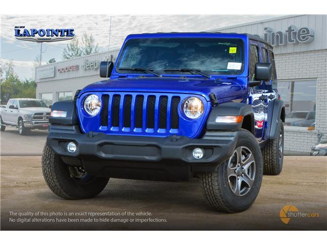 2019 Jeep Wrangler Unlimited Sport (Stk: 19326) in Pembroke - Image 1 of 20