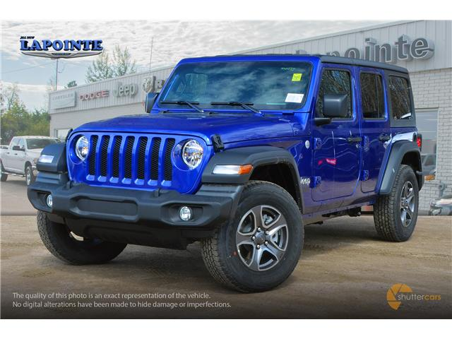 2019 Jeep Wrangler Unlimited Sport (Stk: 19326) in Pembroke - Image 2 of 20