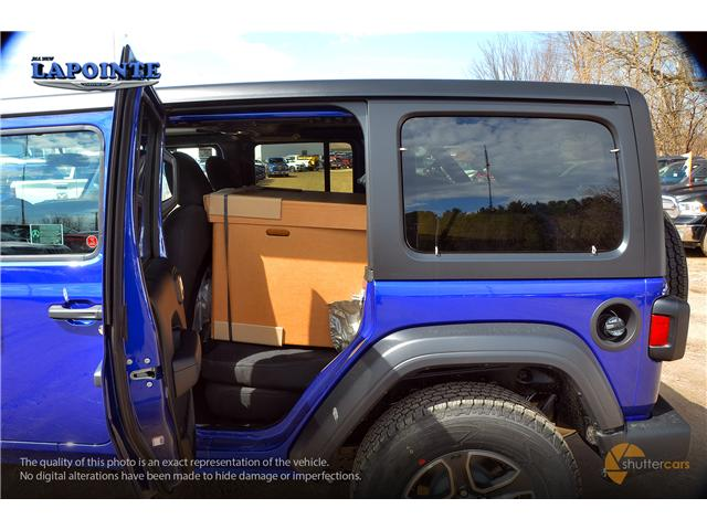2019 Jeep Wrangler Unlimited Sport (Stk: 19326) in Pembroke - Image 9 of 20