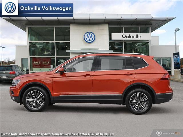 2019 Volkswagen Tiguan Highline (Stk: 21071) in Oakville - Image 3 of 23