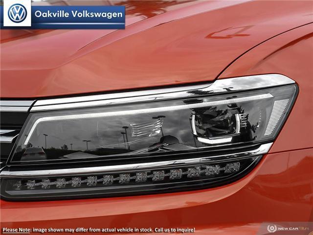 2019 Volkswagen Tiguan Highline (Stk: 21071) in Oakville - Image 10 of 23