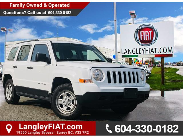 2017 Jeep Patriot Sport/North (Stk: LF010250) in Surrey - Image 1 of 1