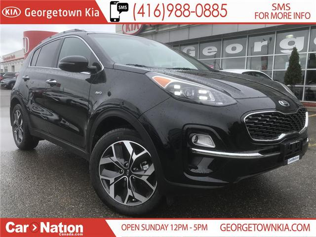2020 Kia Sportage EX TECH | $238 BI-WEEKLY | PANO ROOF | NAVI | (Stk: ST20010) in Georgetown - Image 1 of 32