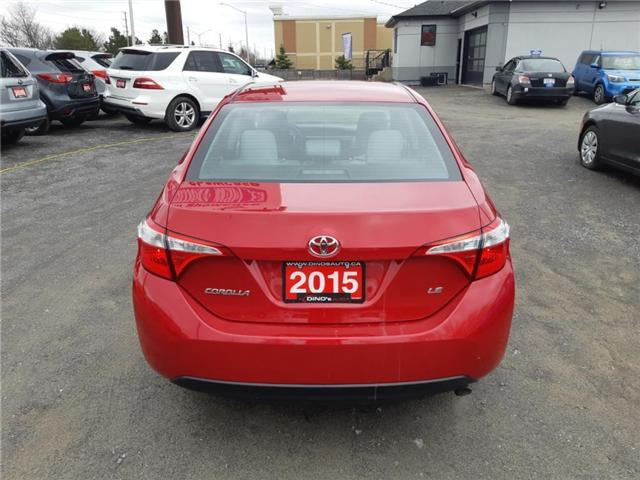 2015 Toyota Corolla  (Stk: 258125) in Orleans - Image 3 of 24