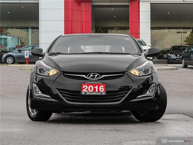 2016 Hyundai Elantra Sport Appearance (Stk: RO19-135A) in Etobicoke - Image 2 of 20