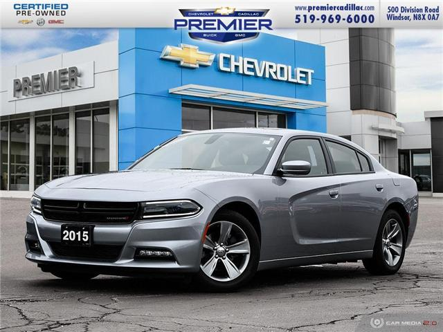 2015 Dodge Charger SXT (Stk: P19034A) in Windsor - Image 1 of 28