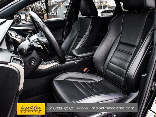 2017 Lexus NX 200t Base (Stk: 120231) in Ottawa - Image 16 of 30