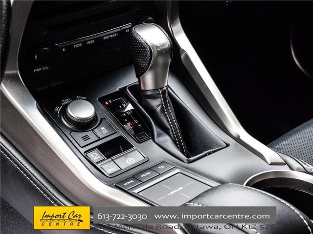 2017 Lexus NX 200t Base (Stk: 120231) in Ottawa - Image 30 of 30