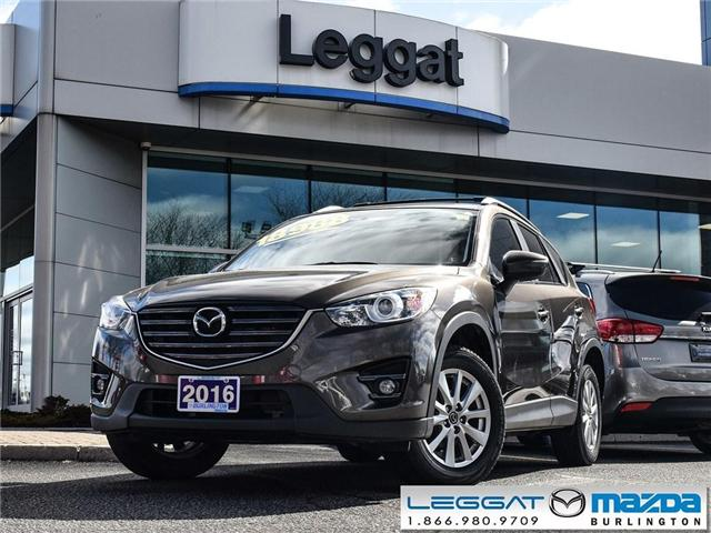 2016 Mazda CX-5 GS- MOONROOF, BLUETOOTH, REAR CAMERA (Stk: 1863LT) in Burlington - Image 1 of 23