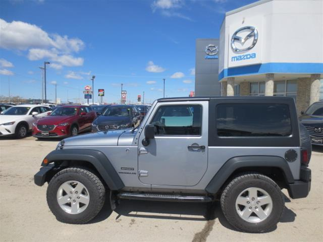 2014 Jeep Wrangler Sport (Stk: M18176B) in Steinbach - Image 6 of 22