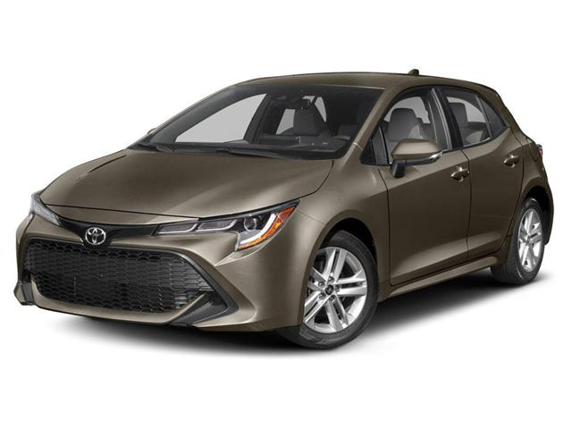 2019 Toyota Corolla Hatchback Base (Stk: N11219) in Goderich - Image 1 of 9
