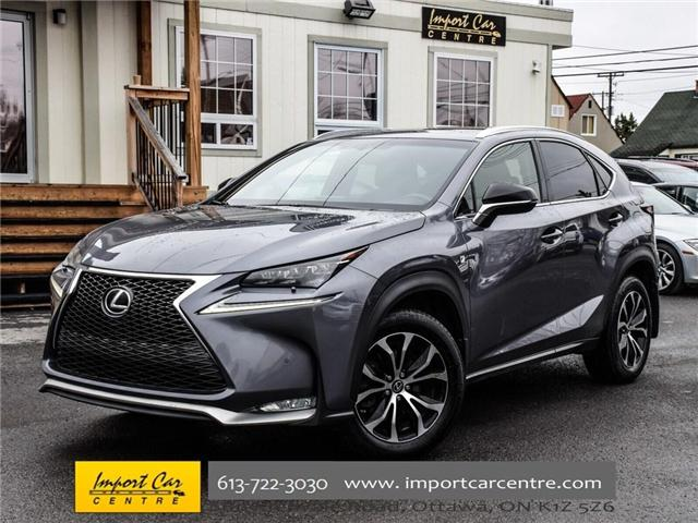 2016 Lexus NX 200t Base (Stk: 094044) in Ottawa - Image 1 of 30