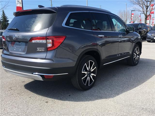 2019 Honda Pilot Touring (Stk: 191025) in Barrie - Image 6 of 7