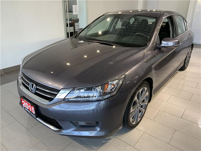 2015 Honda Accord Sport (Stk: 16114A) in North York - Image 1 of 15