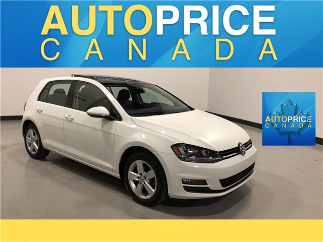 2016 Volkswagen Golf 1.8 TSI Comfortline (Stk: F0256) in Mississauga - Image 1 of 27