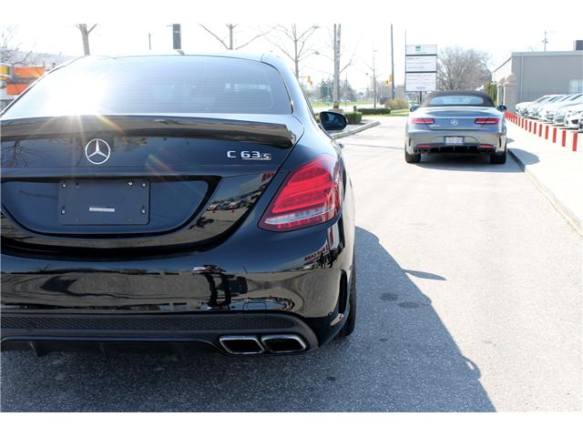 2017 Mercedes-Benz AMG C 63 S (Stk: D3574) in Toronto - Image 12 of 25