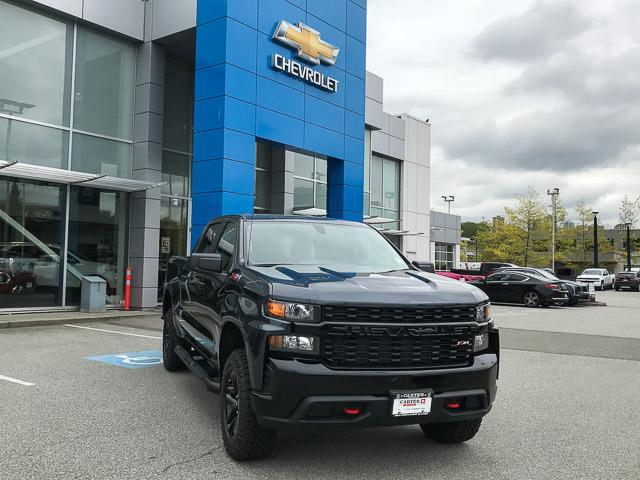 2019 Chevrolet Silverado 1500 Silverado Custom Trail Boss (Stk: 9L41680) in North Vancouver - Image 2 of 13
