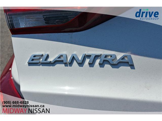 2018 Hyundai Elantra GL SE (Stk: U1691R) in Whitby - Image 12 of 32